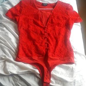 Bebe bodysuit size medium